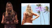 Vortrag von Angie Holzschuh auf dem Gesundheits-Meeting
