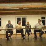 Tischgespräch vorm Alphakongress